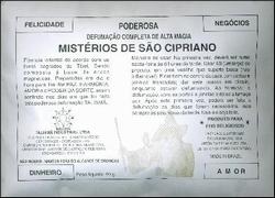 Wierookmengsel 'São Cipriano' van het merk Talismã.